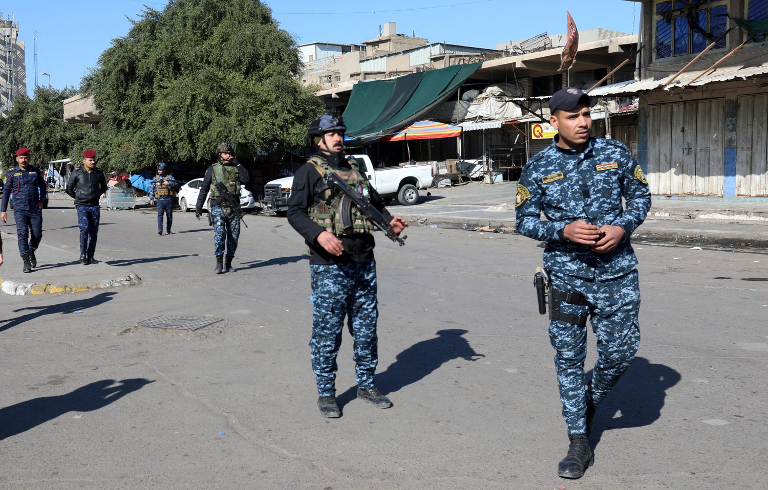 ISIS Takes Responsibility For Double Suicide Bombing In Baghdad Market