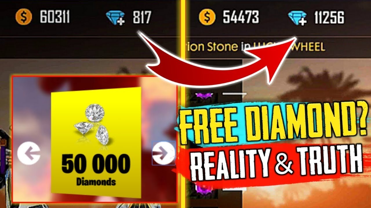 diamonds in Garena Free Fire
