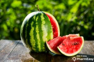 Where did the watermelon come from?