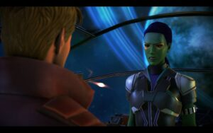 Makers of the Guardians of the Galaxy Game Discuss Star-Lord as a Protagonist for the game!
